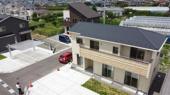 山梨市歌田 新築戸建 全1棟 南西角地 駐車4台可の画像