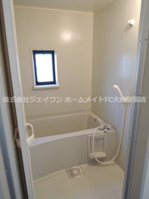 【浴室】サンヴィレッジ華C