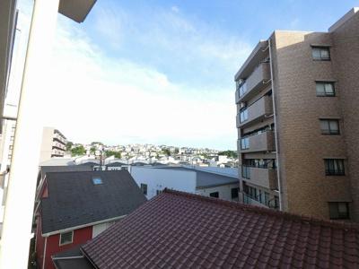 4階部分からの眺望です。