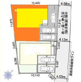 【区画図】鴻巣市天神【全2棟】~新築分譲住宅~