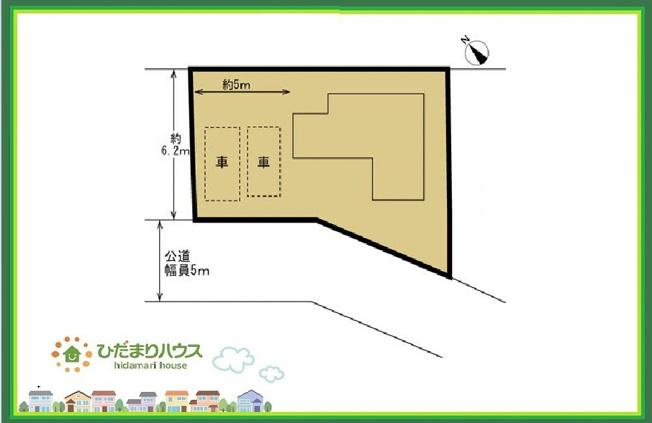 【区画図】土浦市烏山5丁目 中古戸建