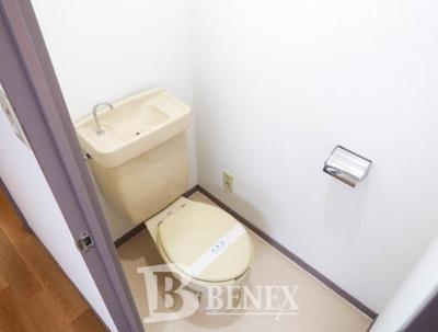 サンフラワービルのトイレです