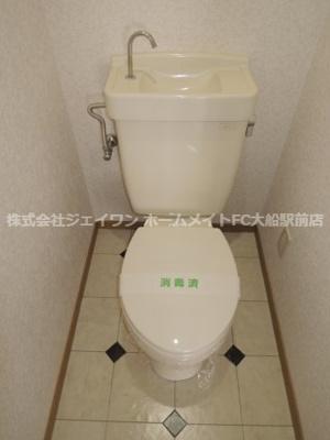 【トイレ】ビレジ藤が岡