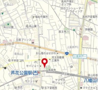 フェニックス芦花公園駅前壱番館 三都市アース桜上水店 TEL:03-3306-1800