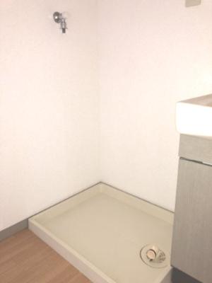 洗濯置き場です