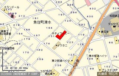 【地図】Gティファニー