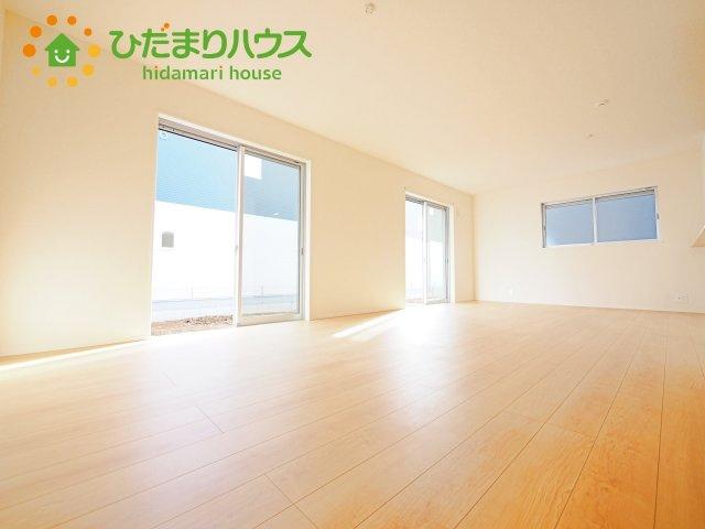 【前面道路含む現地写真】阿見町よしわら21-1期 新築戸建 2号棟