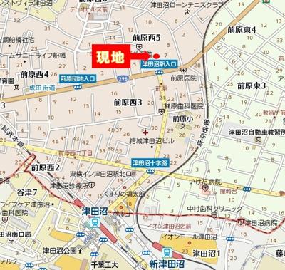 【地図】メゾンシュガー
