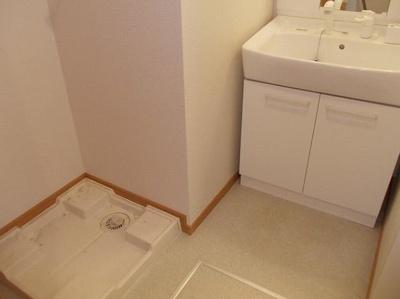 うれしい独立洗面台・脱衣所。