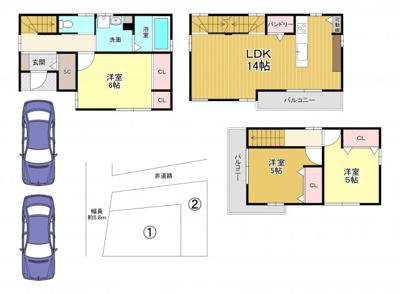 建物:1620万円 延床面積:78.17㎡