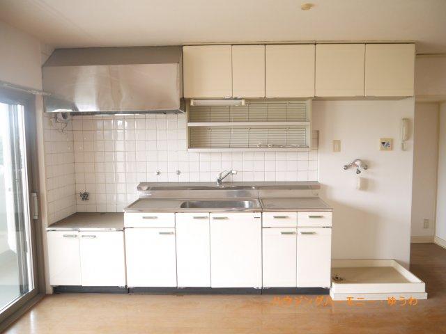 【キッチン】前野台住宅第4号棟