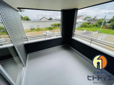 【バルコニー】筑後市西牟田新築建売住宅