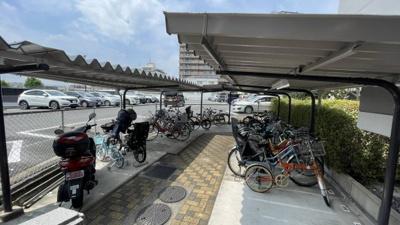 バイク・自転車置き場ございます。