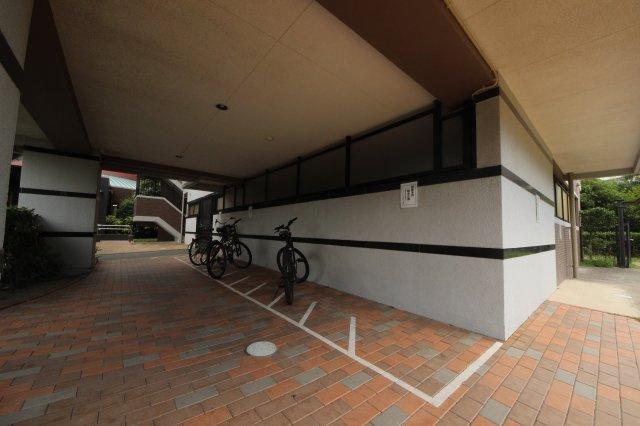 【駐輪場】グリーンマンション神松寺ナチュレ1番館