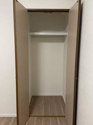 令和3年7月末リフォーム済 洗濯機スペース 収納棚付き
