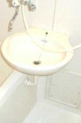 【洗面所】ヒサオコーポ