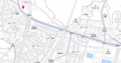【地図】西野4丁目 売地
