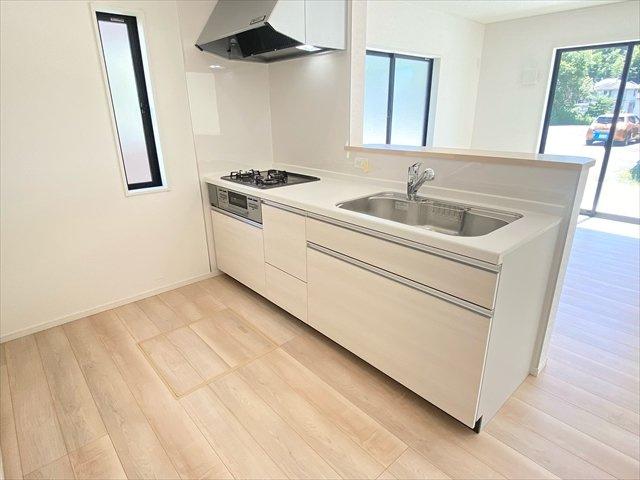 【キッチン】新築一戸建て「二宮町山西第8」残1棟