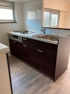 キッチンも2019年にリニューアル 浄水器一体型水栓