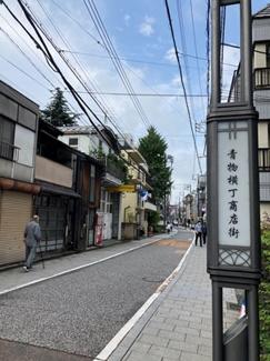 旧東海道・青物横丁商店街