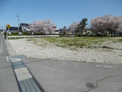 【外観】平川市猿賀南野土地温泉権付き角地