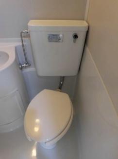 【トイレ】第2清水マンション