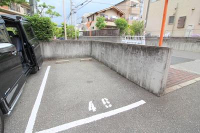 【駐車場】ベルク池田石橋