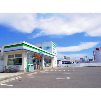 コンビニ「ファミリーマート長野東和田店まで856m」