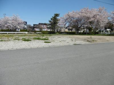 【外観】平川市猿賀南野土地温泉権付き