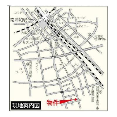 【地図】PASA・DE・URAWABUZOU