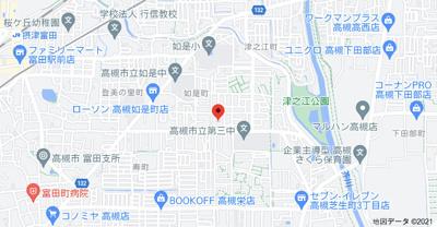 【地図】メゾン津之江