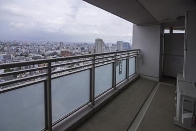 【バルコニー】富久クロスコンフォートタワー