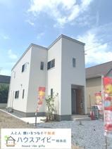 岐南町平島 新築建売限定1邸 ウッドデッキのついた個性あふれる、楽しくなるお家です♪お車スペース2台の画像
