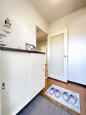 バスルームの浴室換気乾燥機で外に干せないお洗濯物もすっきり乾きます♪雨の日のお洗濯もバッチリ!
