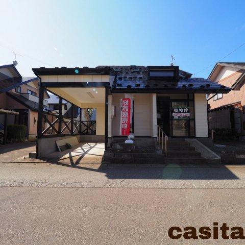 【駐車場】大仙市 大曲福見町 中古戸建て住宅1998年新築4SLDKカレージあり