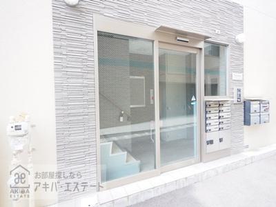 【エントランス】エマーレ日本橋富沢町