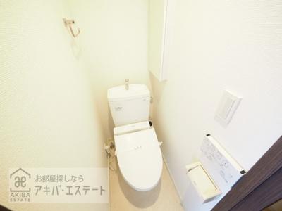【トイレ】エマーレ日本橋富沢町
