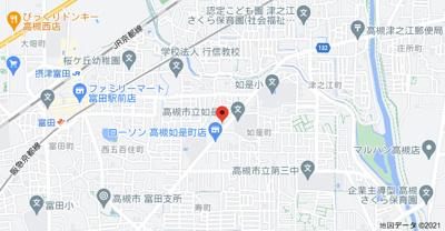 【地図】マンションふじ2号館 (株)Roots