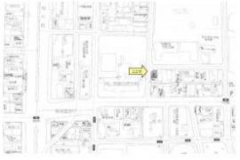 【地図】弓之町店舗付き住居