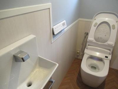 【トイレ】土佐市新居