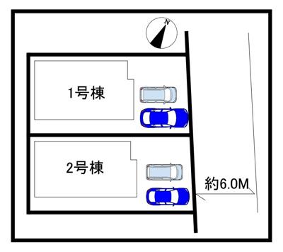 【区画図】新築戸建て 川口市戸塚3丁目