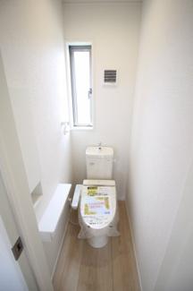 【トイレ】富士市岩本第13 新築戸建 全1棟 (1号棟)