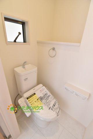 【トイレ】桶川市末広3丁目 新築一戸建て 01