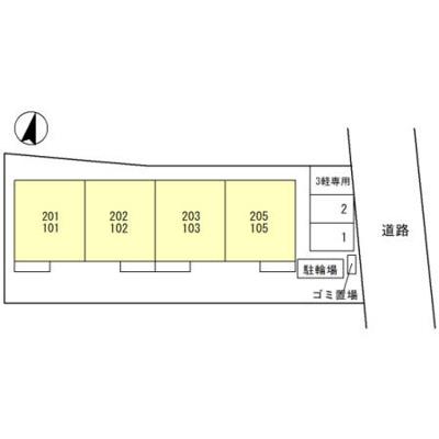 【区画図】ポポの木