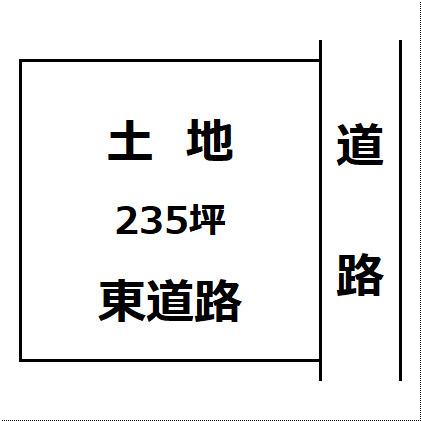 【土地図】大仙市高関上郷 四ツ屋小学校区 土地物件