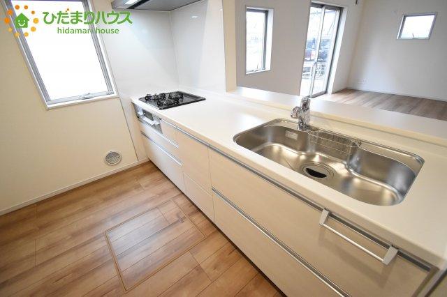 【キッチン】伊奈町本町 第2 新築一戸建て リーブルガーデン 01