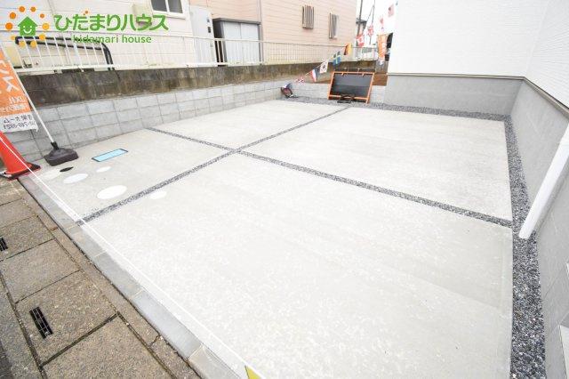 【駐車場】伊奈町本町 第2 新築一戸建て リーブルガーデン 01