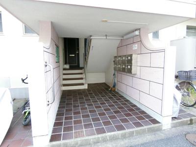 【エントランス】野間台住宅9棟