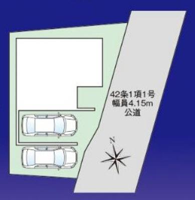 【区画図】新築戸建て さいたま市第1浦和区領家