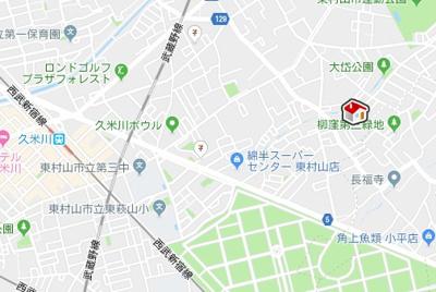 【地図】レオパレスFEDE(22760-110)